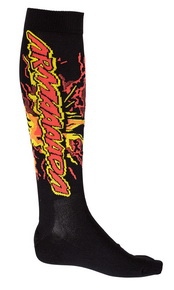 Kaboom Ski Sock Black 13/14 -