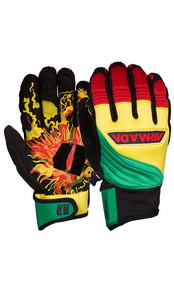 Throttle Glove Green 13/14 -