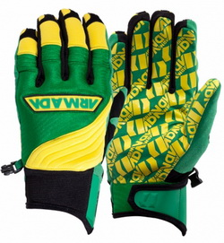 Throttle Pipe Glove	Green 12/13 -
